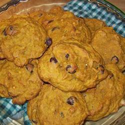 Crystal's Chocolate Chip Pumpkin Cookies