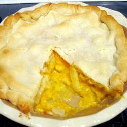 ZiZi's Simple Cheese Onion Pie