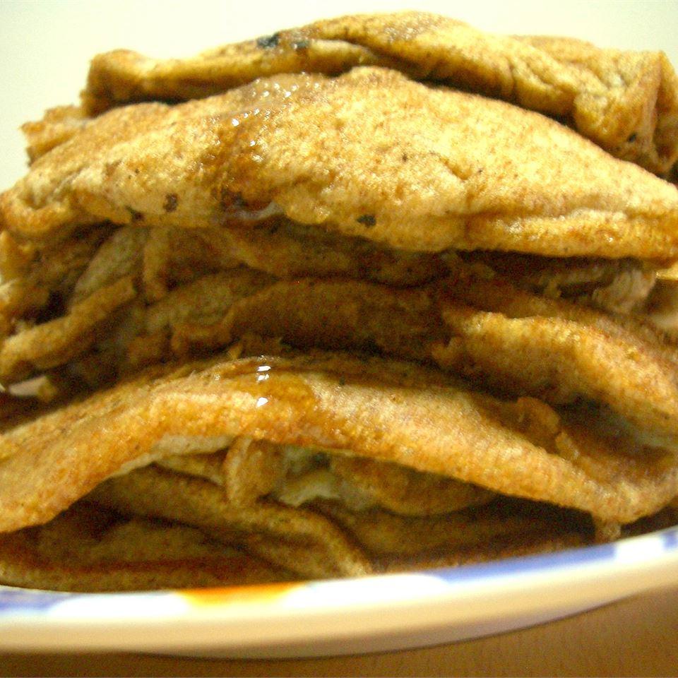 Wheat Germ Whole-Wheat Buttermilk Pancakes joanne_teo