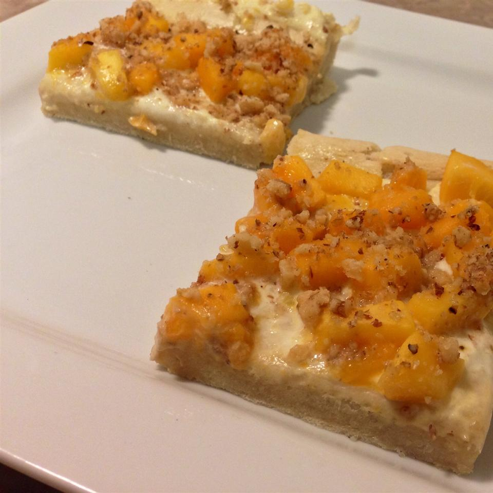 Mango Cream Cheese Pizza