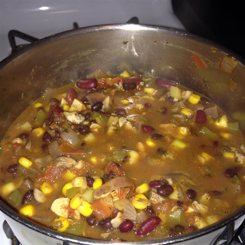 Summer Vegetarian Chili Linda D