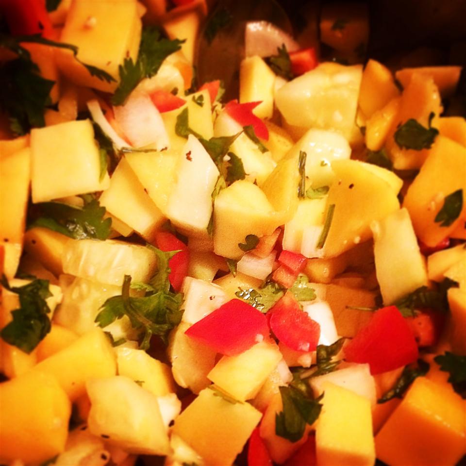 Cucumber-Mango Salsa rndicecco