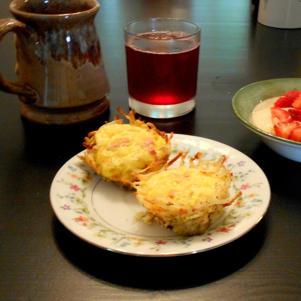 Bird's Nest Breakfast Cups ONIOND