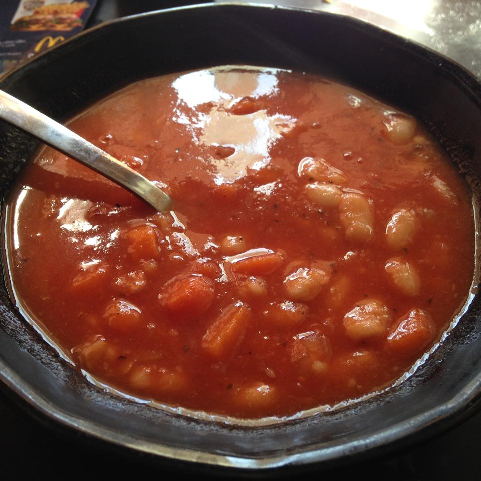 Bean and Bacon Soup Sherry Dollens