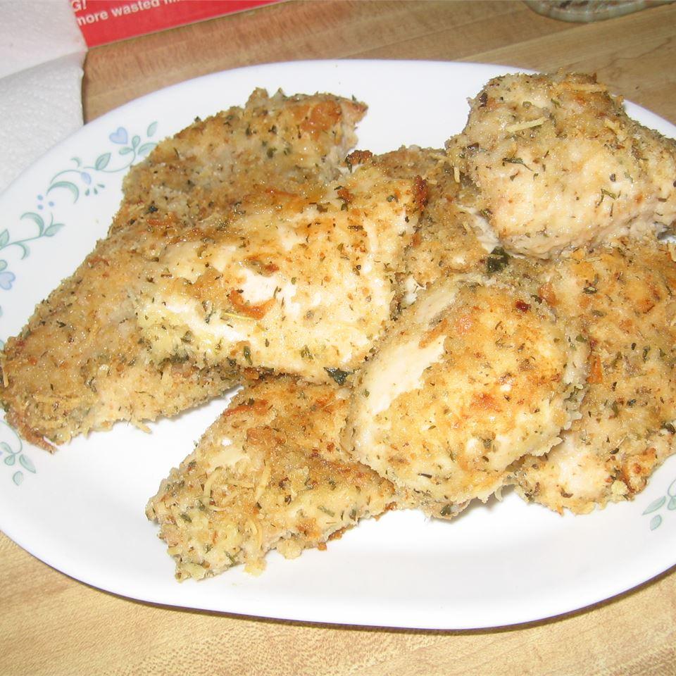 Breaded Parmesan Chicken