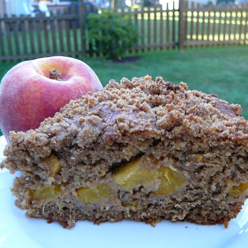 Avon's End of Summer Sunday Morning Peach Coffee Cake