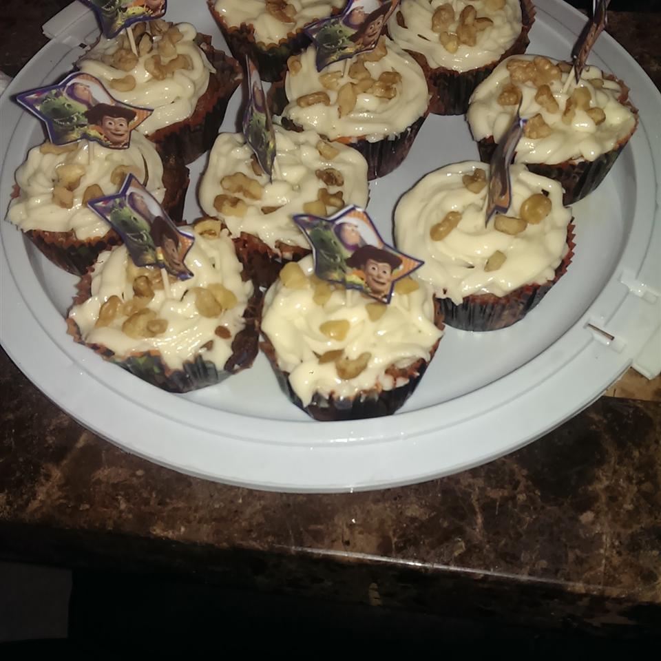 Carrot Pineapple Cupcakes Brenda Mendez
