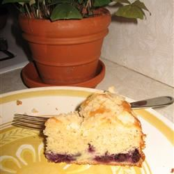 Blueberry Buttermilk Coffeecake kareno
