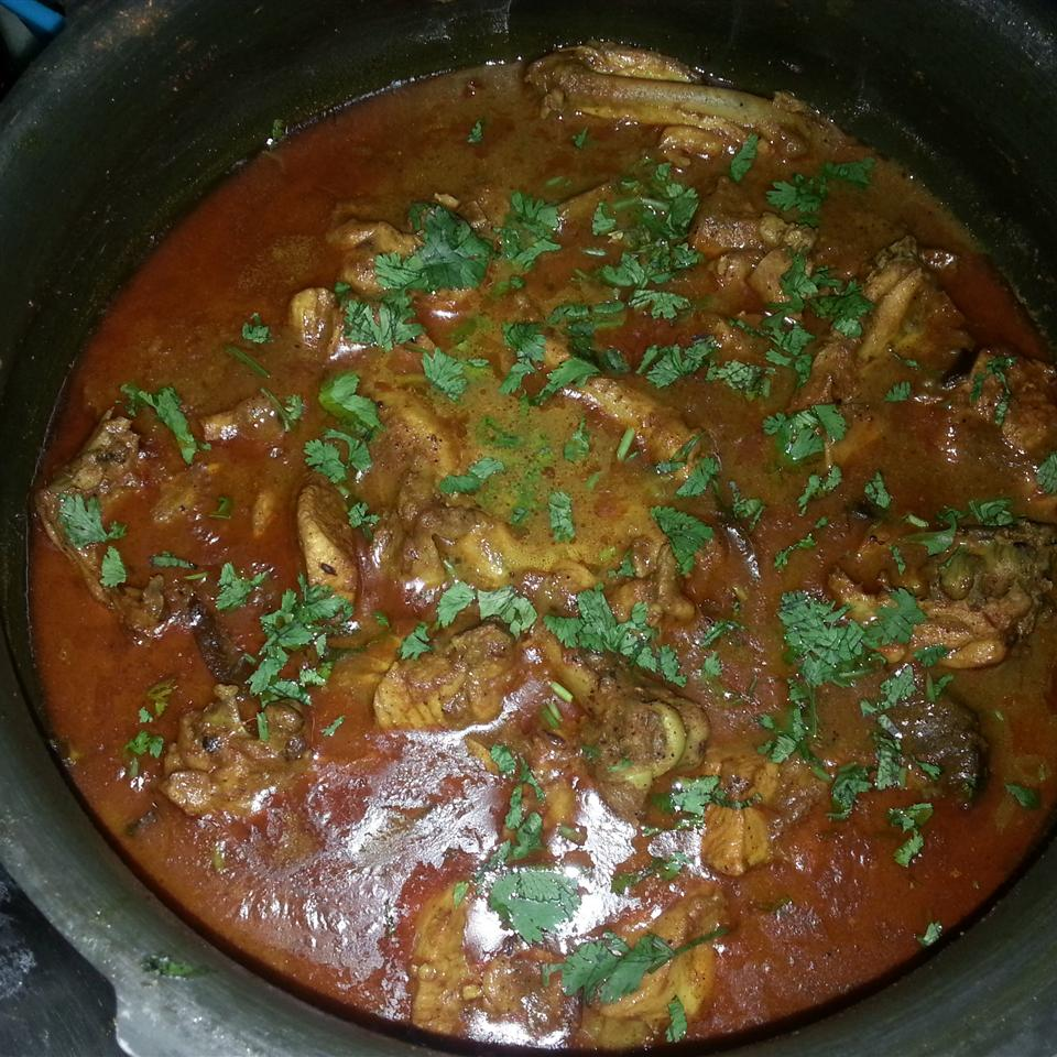 Punjabi Chicken in Thick Gravy