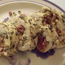 Feta and Sun-Dried Tomato Stuffed Chicken bellydancer