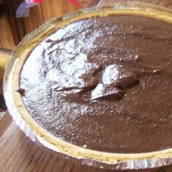 Chocolate Pudding Pie Sumchelle