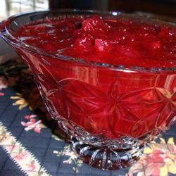 Michelle's Famous Washed Cranberry Sauce