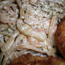 Shrimp Fettuccine Alfredo TinaG