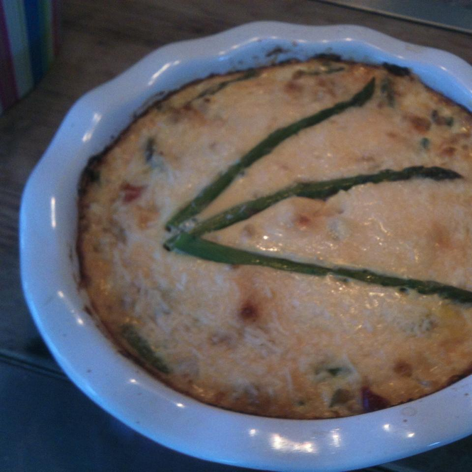 Salmon and Asparagus Quiche Vicky Filipowsky