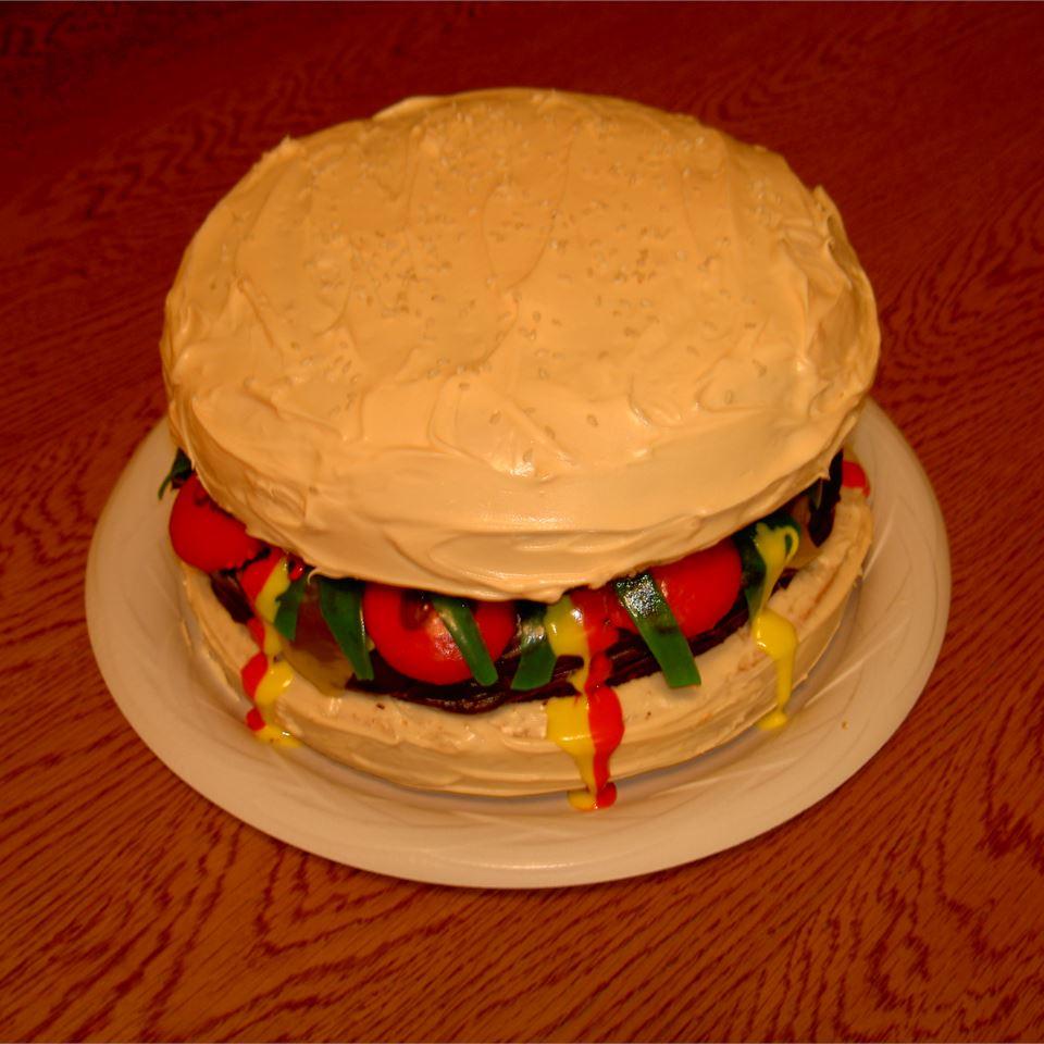 Bacon Cheeseburger Cake Mama Cass