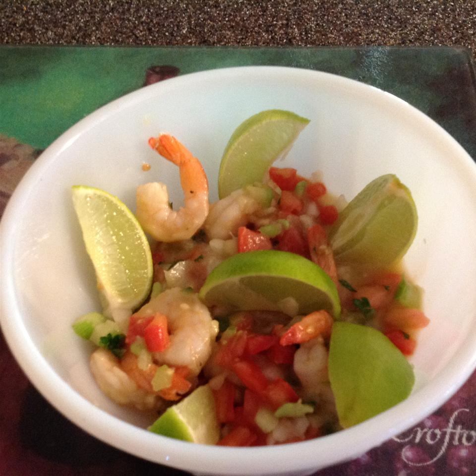 Jose's Shrimp Ceviche