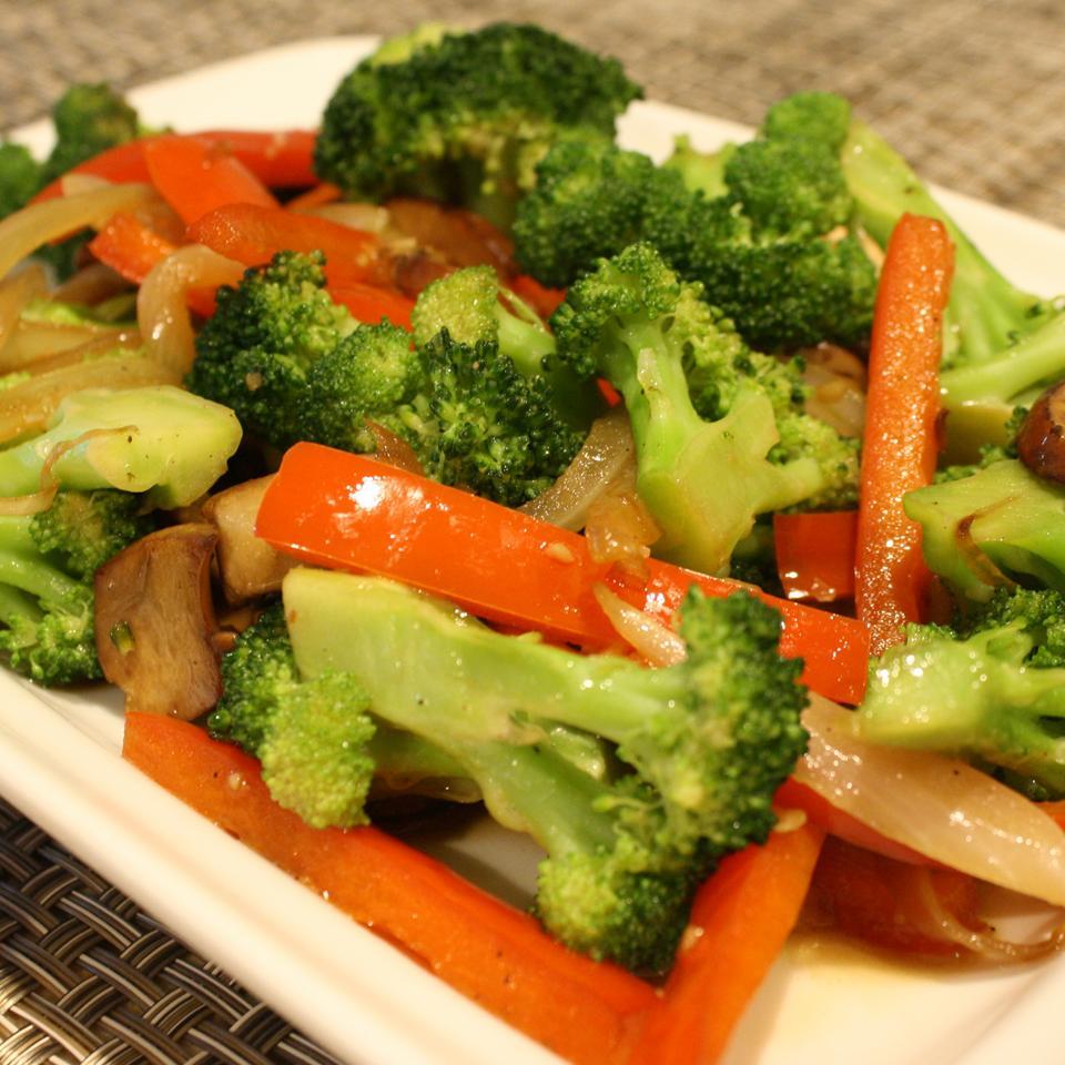 Sesame Vegetable Stir-Fry naples34102