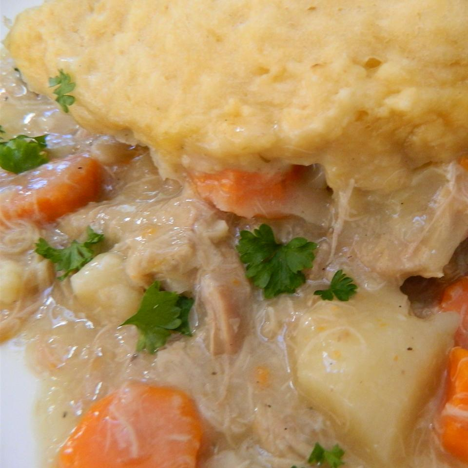 Mom's Chicken and Dumplings (Slow Cooker Version)