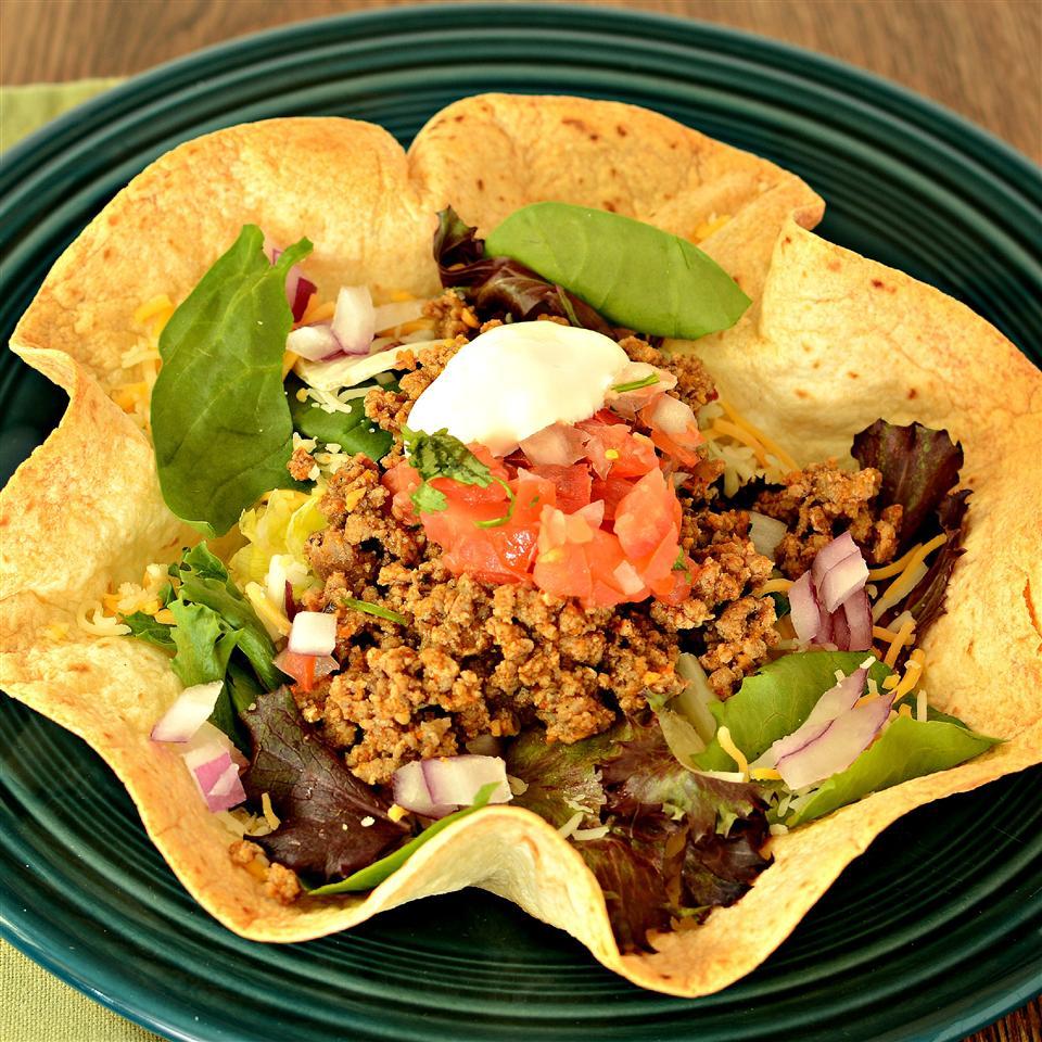 Quick Turkey Taco Salad bd.weld