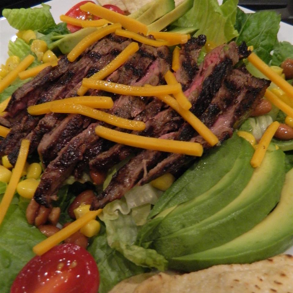 Beef Fajita Salad mauigirl