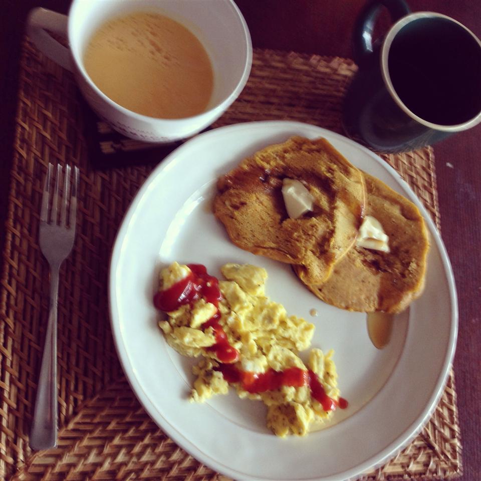 Chef John's Pumpkin Pancakes amanda colby