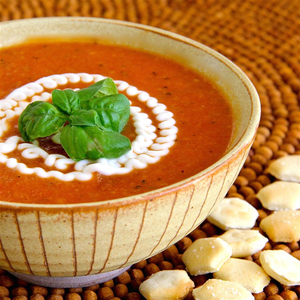 Creamy Tomato Soup (No Cream)