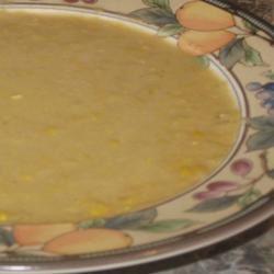 Creamy Corn With Cumin Soup