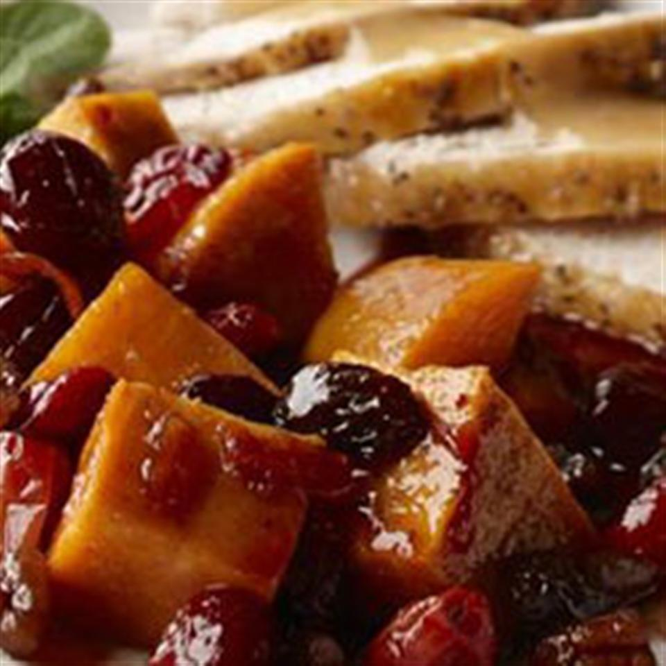 Spiced Sweet Potatoes and Cranberries Trusted Brands