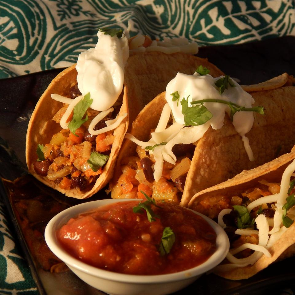 Dave S Mexican Veggie Tacos Recipe Allrecipes