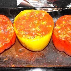 Lamb Feta Peppers GailandDan