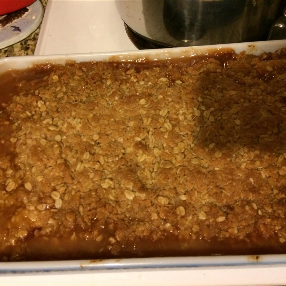 Juicy Peach Crisp Karen Young