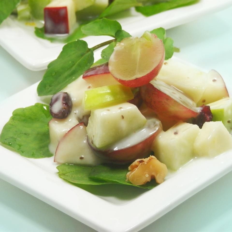 Waldorf Salad with Yogurt