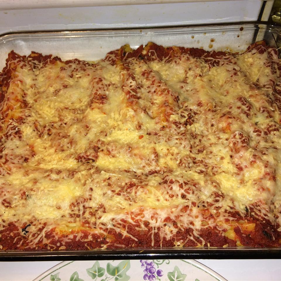Cannelloni Florentine