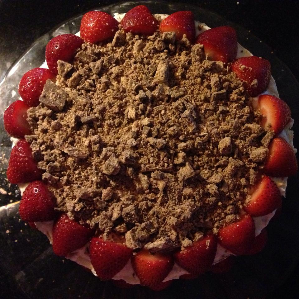 Chocolate Candy Bar Cake