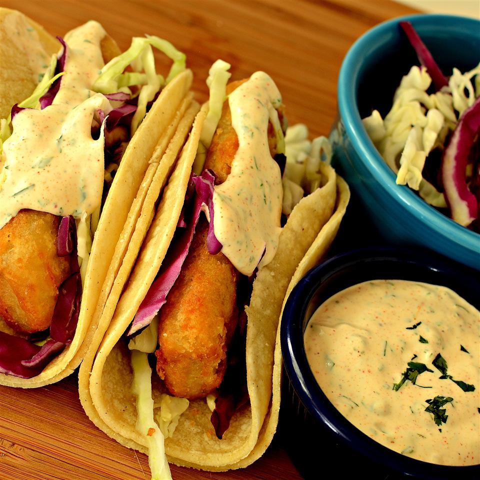 Baja Sauce for Fish or Shrimp Tacos