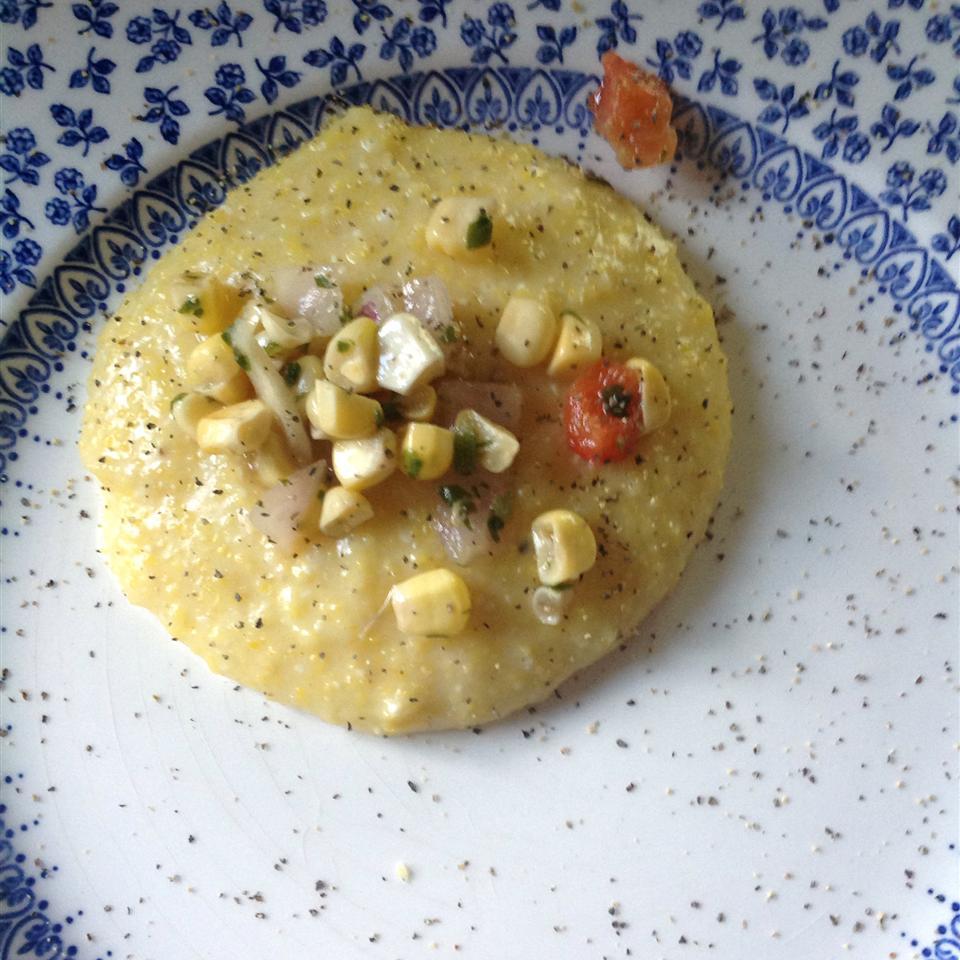 Cheesy Polenta
