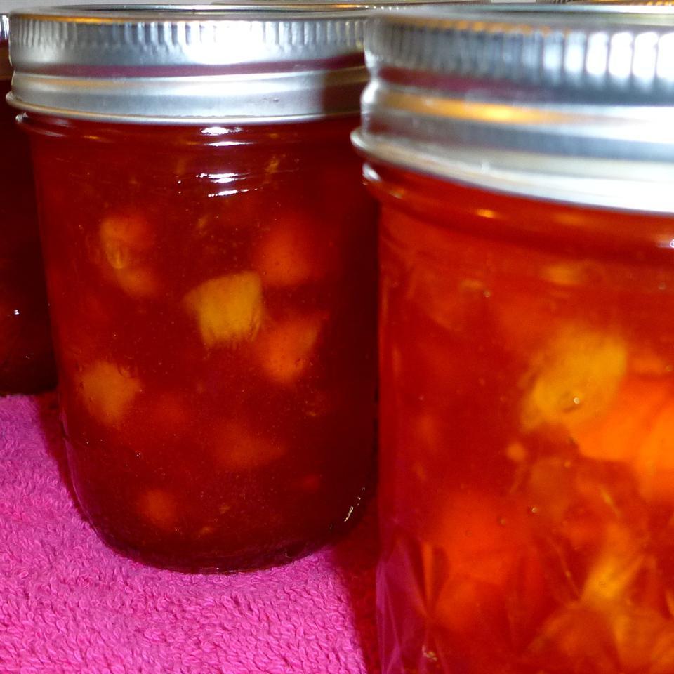 Ginger-Peach Jam