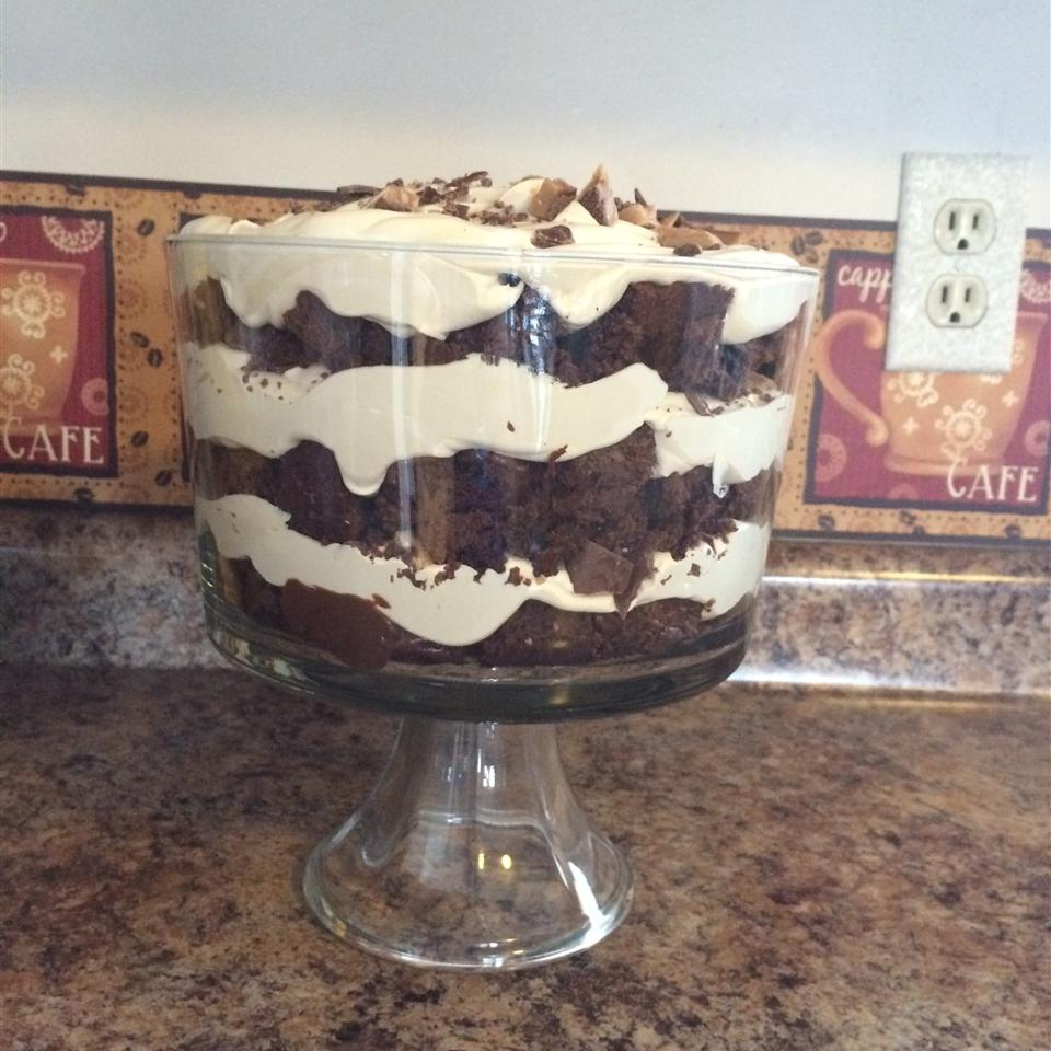 Double Chocolate Mocha Trifle Terri