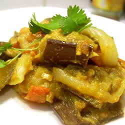 Baingan Bharta (Eggplant Curry) SunFlower