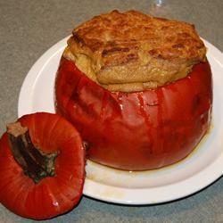 Baked Whole Pumpkin