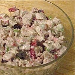 festive fall turkey salad recipe