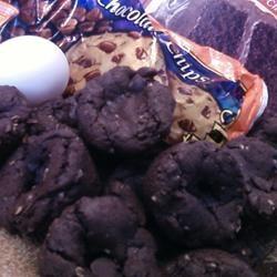 Chocolate Chip Cake Mix Cookies Keri