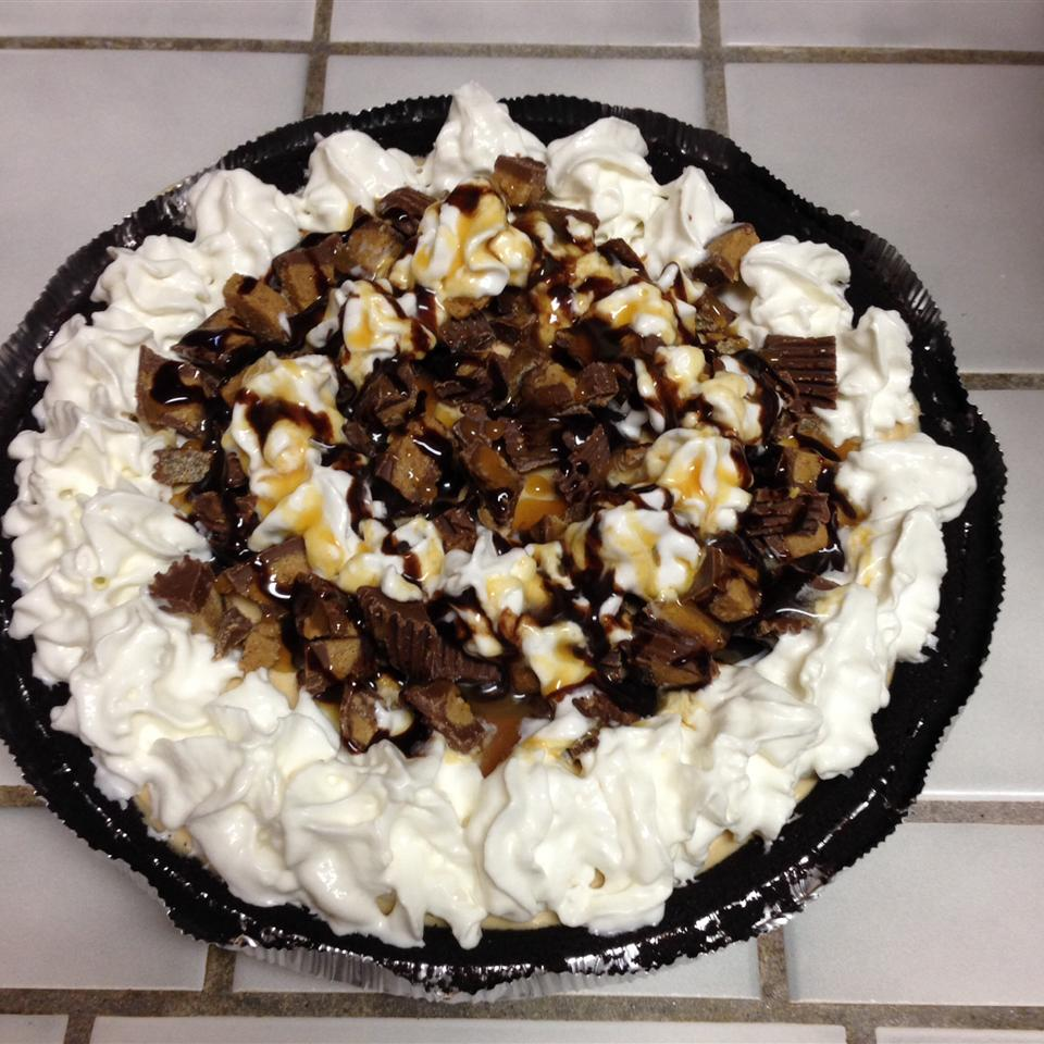 Smooth and Creamy Peanut Butter Pie JUSTSILENT
