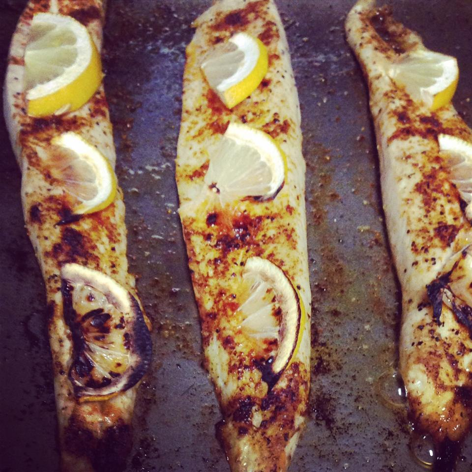 Broiled Spanish Mackerel ChrystalOates