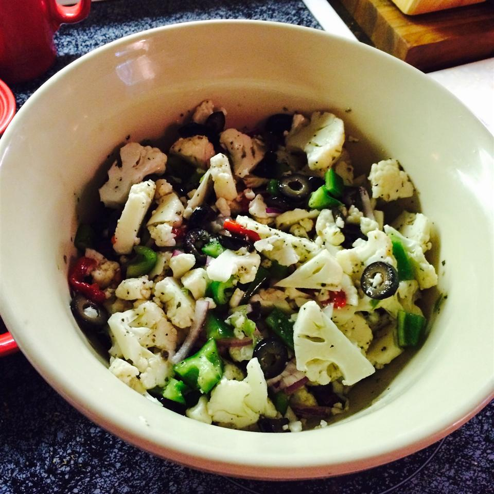 Cauliflower Salad Bowl