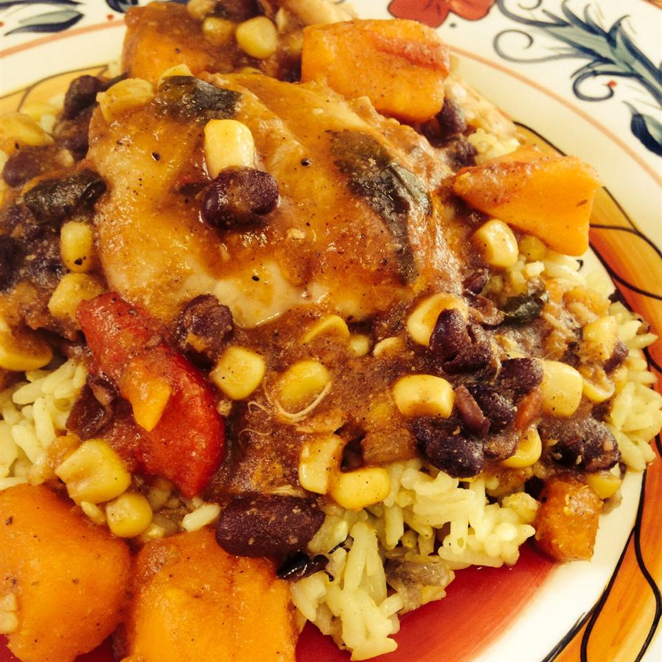 Slow Cooker Latin Chicken