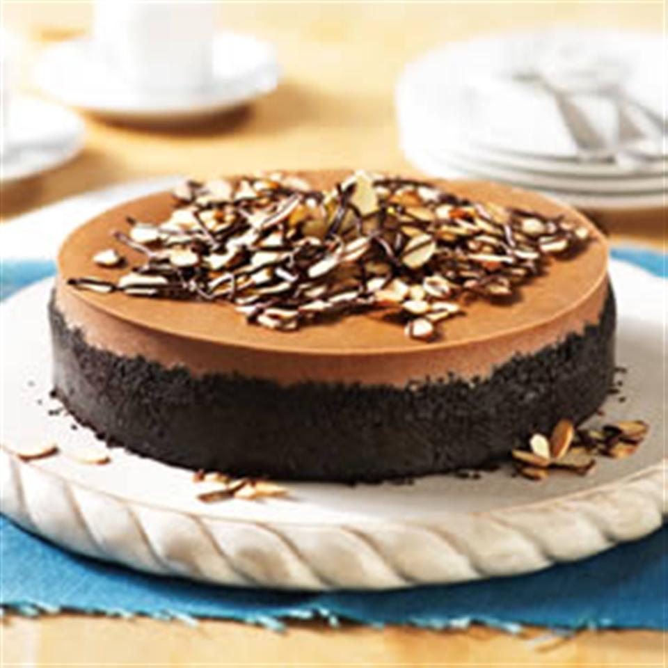 Mocha-Almond Cheesecake