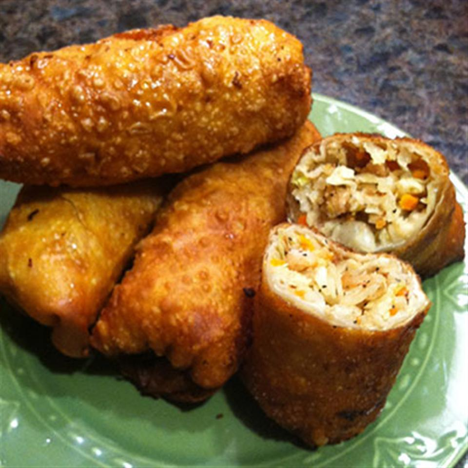Jan's Simple and Tasty Egg Rolls Trusted Brands