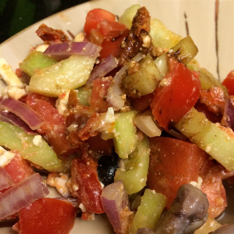 Mediterranean Greek Salad Greg