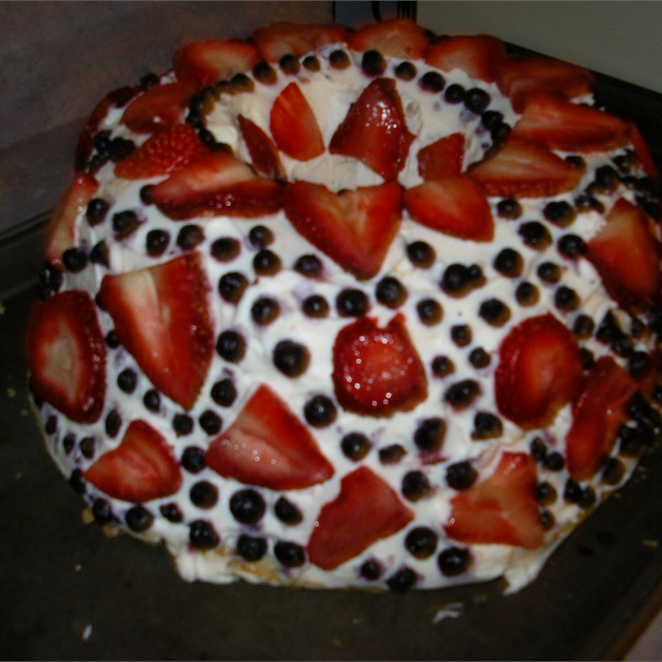 Strawberry Angels' Cake Celeste